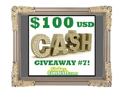 Win $100 USD CASH