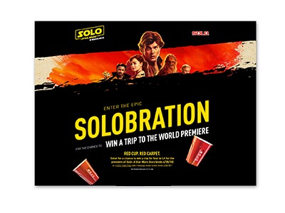 Solo Cup Epic SOLOBRATION Sweepstakes