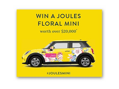 Win a Joules Mini Cooper - Ends May 6th