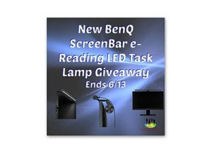 BenQ ScreenBar e-Reading LED Task Lamp Giveaway