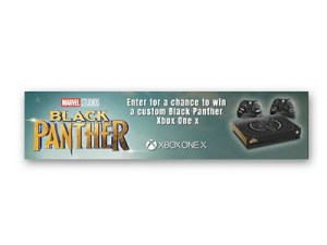 Win a Custom Black Panther Xbox One X