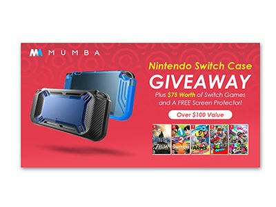 Nintendo Switch Games and Case Giveaway