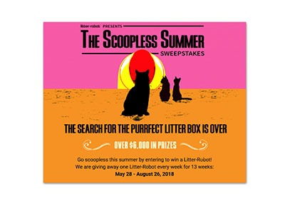 Litter Robot Scoopless Summer Sweepstakes