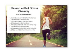 Ultimate Health & Fitness Giveaway