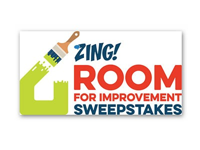 ZING! Room For Improvement Sweepstakes