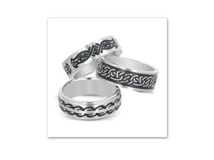 Win a Unique Tribal Tattoo Stainless-Steel Rings