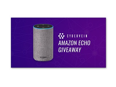 Cybervein Amazon Echo Giveaway
