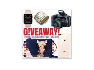 Winner's Choice Iphone 8, Kate Spade, $700 Cash, Canon & More
