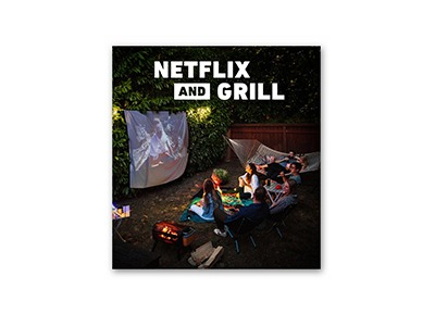 Enter To Win Your Own Netflix & Grill Kit