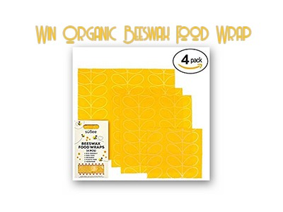 süßee Organic Reusable Beeswax Food Wrap Giveaway