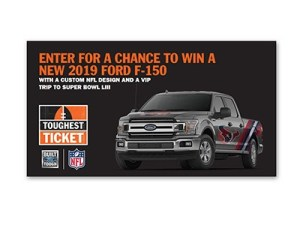 Ford Toughest Tickets Sweepstakes