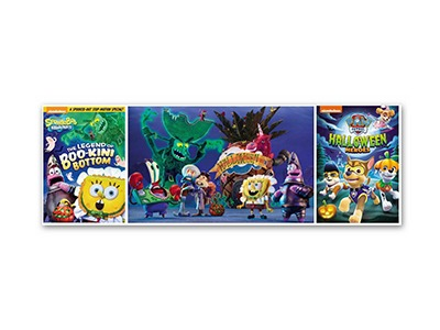 Win a Nickelodeon Halloween DVD Prize Pack