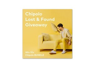 Chipolo Lost & Found Giveaway