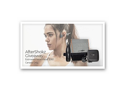 Aftershokz Headphones Gift Pack Giveaway