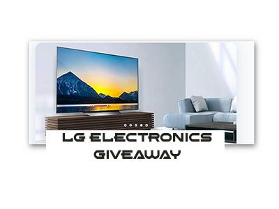 "LG 55"" Ultra HD Smart TV Giveaway"