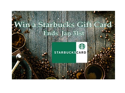 Win a Starbucks Gift Card Giveaway