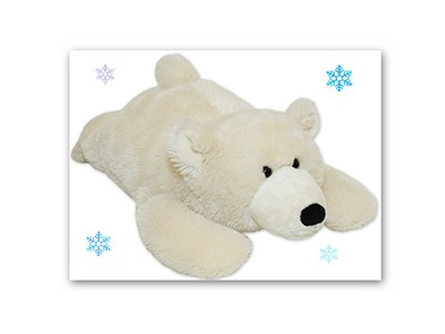 Win a Warm Buddy Polar Bear