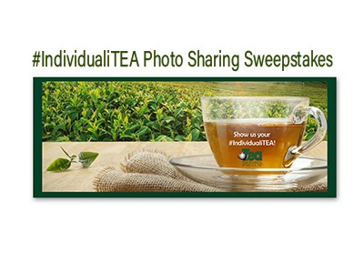 IndividualiTEA Photo Sharing Sweepstakes