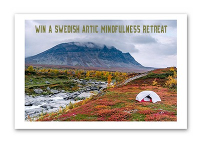 Win a Swedish Artic Mindfulness Retreat