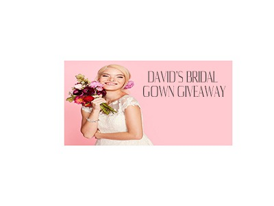 Davids Bridal Monthly Bridal Gown Giveaway
