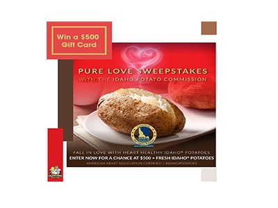National Potato Lovers Month Giveaway