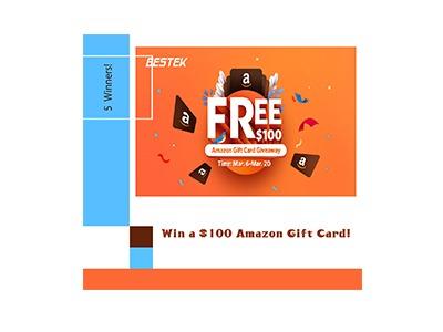 Bestek Amazon Gift Card Giveaway
