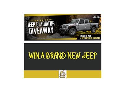 Win a 2020 Jeep Gladiator
