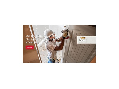 LARSON Home Let's Create One Together Sweepstakes
