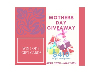 Mother's Day Blog Giveaway-