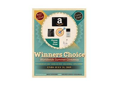 Winner's Choice Summer Giveaway
