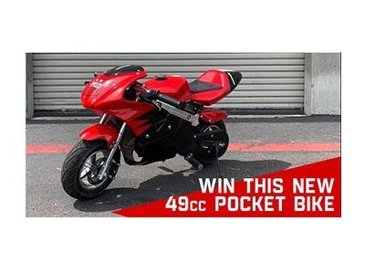Win a Pocket Bike