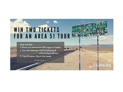 Win Two Tickets for an Area 51 Tour