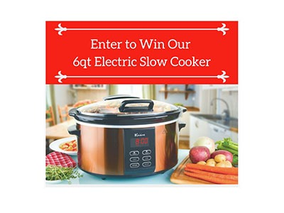 Win a 6QT Slow Cooker