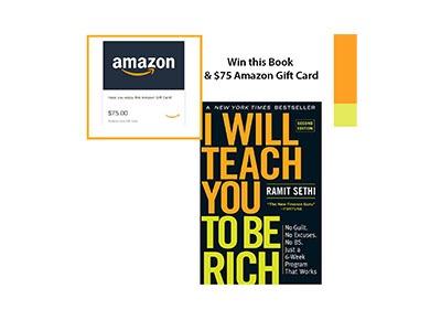 Win Ramit Sethi's Book  and Amazon Shopping Spree