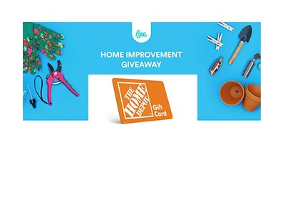 Flipp Home Improvement Giveaway