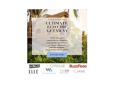 Playa Viva Eco Retreat Giveaway