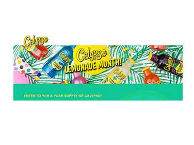 Calypso Lemonade Month Sweepstakes