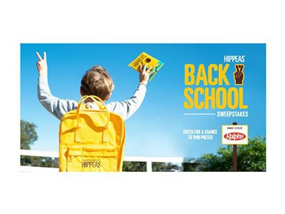 Hippeas Back-to-School Sweepstakes