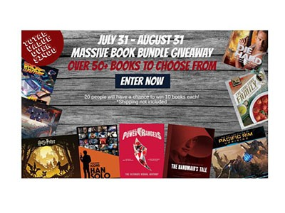 Massive Book Bundle Giveaway