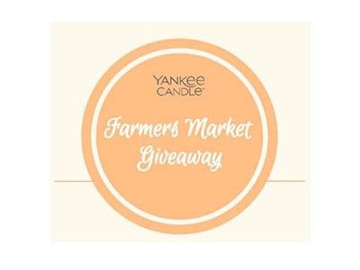 Yankee Candle Farmer's Market Giveaway