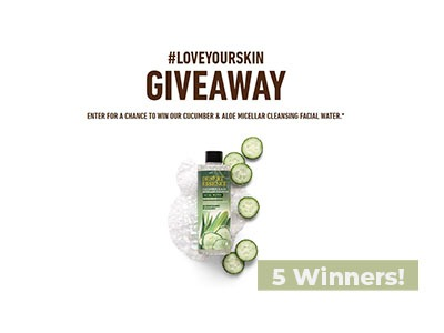 #LOVEYOURSKIN Giveaway