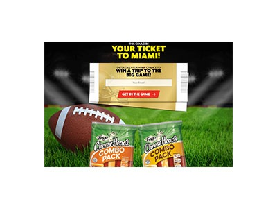 Frigo Cheese Heads Winning Combos Text to Win Game