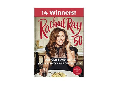 Win a Signed Copy of Rachael Ray's New Book