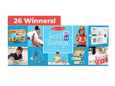 Melissa & Doug Terrific 25 Toy Giveaway
