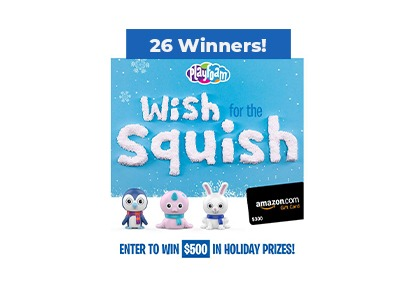 Playfoam Wish for the Squish Sweepstakes