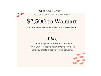 POPSUGAR Must Have Campbell's Giveaway