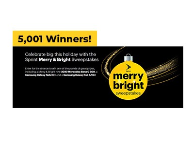 Sprint Merry & Bright Sweepstakes