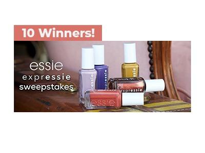 Essie Expressie Sweepstakes