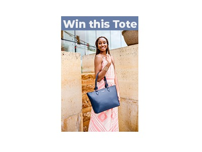 Win A Classic Tote & Set of Four Gemstone Hair Pins
