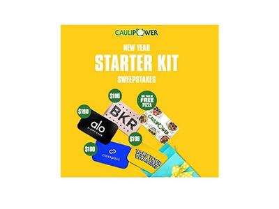 Caulipower New Year Starter Kit Sweepstakes